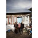 Aktion Julklappen: Moise med föräldrar utanför hemmet