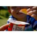 Frukt med Safari barneyoghurt som dip