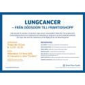 Almedalen 2015: Lungcancer - från dödsdom till framtidshopp