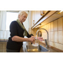 Ny vandhane i køkkenet er med til at spare 2.600 kr om året i hver af de 733 lejligheder i Lejerbo i Hvidovre