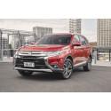 Mitsubishi Outlander introduceres nu med et omfattende facelift