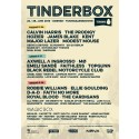 TINDERBOX ANNOUNCES POSTER AND FINAL PROGRAM