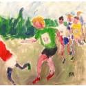 Konst i löparspåret – ett samarbete mellan Lidingökonstnärerna och Lidingöloppet