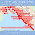 Kulturen presenterar sig när Lindesberg sätts i rörelse 6 maj