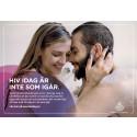 Kontakt med vårdteam positivt för den som lever med hiv