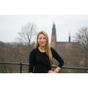 Vanja Eriksson får stipendiet Årets Uppsalastudent 2014
