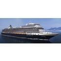 Holland America Line lanserar sitt första Pinnacle-klassade fartyg, med helt ny inredningsdesign
