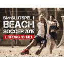 På lördag avgörs SM i Beach Soccer