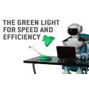 Green light for speed and efficiency