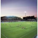 Fotbollsfest på Olympia den 8 maj