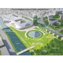 Kombinerad arena för bandy och fotboll i Uppsala