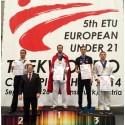 Historisk Taekwondo medalje til Norge i EM