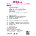 PROGRAM: BZZZ International Sound Art Festival, July 3- 5, 2015