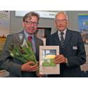 Patrik Marklund tilldelas Jan Häckners bioenergistipendium 2015