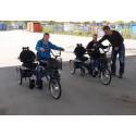 Pressinbjudan: Nämnden för funktionshindrade provar specialcyklar