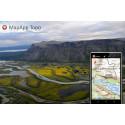 Dela positioner i MapApp Topo