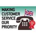 Making customer service our priority