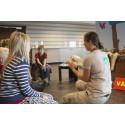 I Skalmans och Vargens Zooskola får barnen lära sig mer om djur
