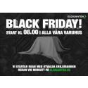 Black Friday lyfter i Sverige