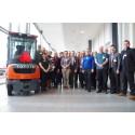 Suomen Lean-yhdistys Toyotan tehtaalla Ruotsissa