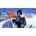 Tony Hawk tester det nye 4K Action Cam fra Sony