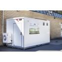 Ustabil vedvarende energi kan stabiliseres med batterier