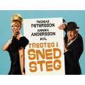 """Premiärkväll för komedin """"Tresteg i Snedsteg"""" med Annika Andersson och Thomas Petersson m.fl. på Lisebergsteatern!"""