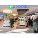 Apotek 1 åpner Norges største kjøpesenterapotek!