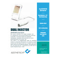 AESTHETECH® DUAL INJECTOR - Produktblad