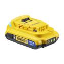 DEWALT ToolConnect DCB183B 2AH XR Battery Rear