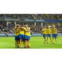Fyra EM-kvalmatcher till Nationalarenan Gamla Ullevi i Göteborg