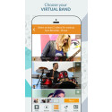 """New App """"Saloote"""" Lets Users Form Virtual Bands and Record, Mashup & Share Videos"""