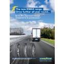 Goodyear esittelee KMAX- ja FUELMAX-renkaat auttaakseen kuljetusyrityksiä tekemään rengasvalinnan helpommin ja tehokkaammin