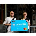 Axel Wallin, Unicef. Paula Hallberg, EnterCard