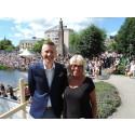 Andreas Liljesson och Kersti Thelin Ringqvist - pristagare Pedagogiskt pris 2015