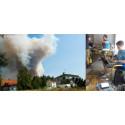 Snabb hjälp under brandkatastrofen i Västmanland
