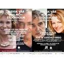 """Judisk vår """"Ord"""" 11/4 & 13/4: Göran Rosenberg, Jehoshua Kaufman, Elin Rombo, Staffan Scheja m.fl"""