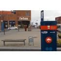 Hurtig strøm på elbilen midt i Korsør by