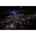 3 000 elever fyllde Läkerol Arena