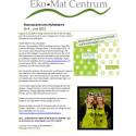 Ekomatcentrums Nyhetsbrev nr 4 2015