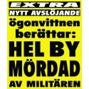 Aktion i Malmö till stöd för de fängslade journalisterna Johan och Martin