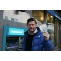 Tvärballa bankomaten är åter laddad i Ale