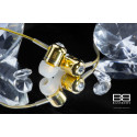 24ct. Gold Bassbuds Earphones with Swarovski Crystals