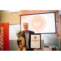Kaustik vinnare av Sveriges mest prestigefyllda pris inom digital PR - Årets Nyhetsrum