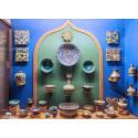 Monter med persisk keramik. Världen på Kulturen.