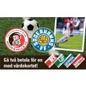 Hälsingederby! HuFF vs SFF - Gå 2 för 1 med HT-kort. Tippa resultatet via SMS!