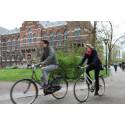 Använder du din cykelhjälm?
