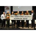 Sigtuna Årets nyföretagarkommun 2012