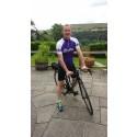 Rossendale stroke survivor marks milestone with gruelling triathlon challenge