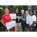 Rugby World Cup winners inspire young athletes from Croydon and Twickenham